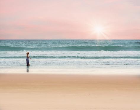Balade sur la plage