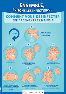 affiche désinfection des mains solution hydroalcoolique enfants – RechercheGoogle
